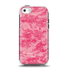 The Pink Digital Camouflage Apple iPhone 5c Otterbox Symmetry Case Skin Set