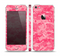 The Pink Digital Camouflage Skin Set for the Apple iPhone 5