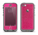 The Pink Fabric Apple iPhone 5c LifeProof Nuud Case Skin Set