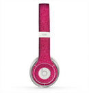 The Pink Fabric Skin for the Beats by Dre Solo 2 Headphones