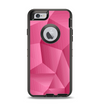 The Pink Geometric Pattern Apple iPhone 6 Otterbox Defender Case Skin Set