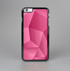 The Pink Geometric Pattern Skin-Sert Case for the Apple iPhone 6 Plus