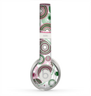 The Pink & Green Floral Paisley Skin for the Beats by Dre Solo 2 Headphones