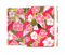 The Pink & Green Hawaiian Floral Pattern V4 Full Body Skin Set for the Apple iPad Mini 3