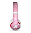The Pink Grungy Surface Texture Skin for the Beats by Dre Studio (2013+ Version) Headphones