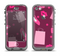 The Pink High Heel Shopping Pattern Apple iPhone 5c LifeProof Nuud Case Skin Set