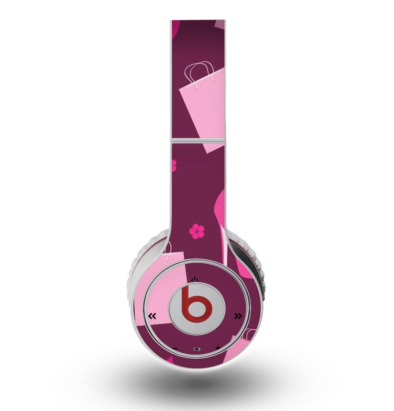 The Pink High Heel Shopping Pattern Skin for the Original Beats by Dre -  DesignSkinz 47a9fef014ab