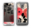 The Pink Nature Layered Pattern V1 Skin for the Samsung Galaxy S5 frē LifeProof Case