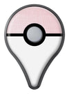The Pink Ombre Scratched Service  Pokémon GO Plus Vinyl Protective Decal Skin Kit