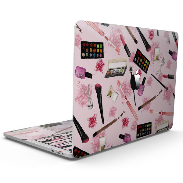 MacBook Pro with Touch Bar Skin Kit - The_Pink_Out_of_the_MakeUp_Bag_Pattern-MacBook_13_Touch_V9.jpg?