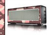 The Pink Outlined Cupcake Pattern Skin for the Braven 570 Wireless Bluetooth Speaker