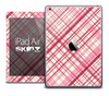 The Pink Plaid Vintage Skin for the iPad Air