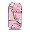 The Pink Real Camouflage Apple iPhone 5c Otterbox Symmetry Case Skin Set