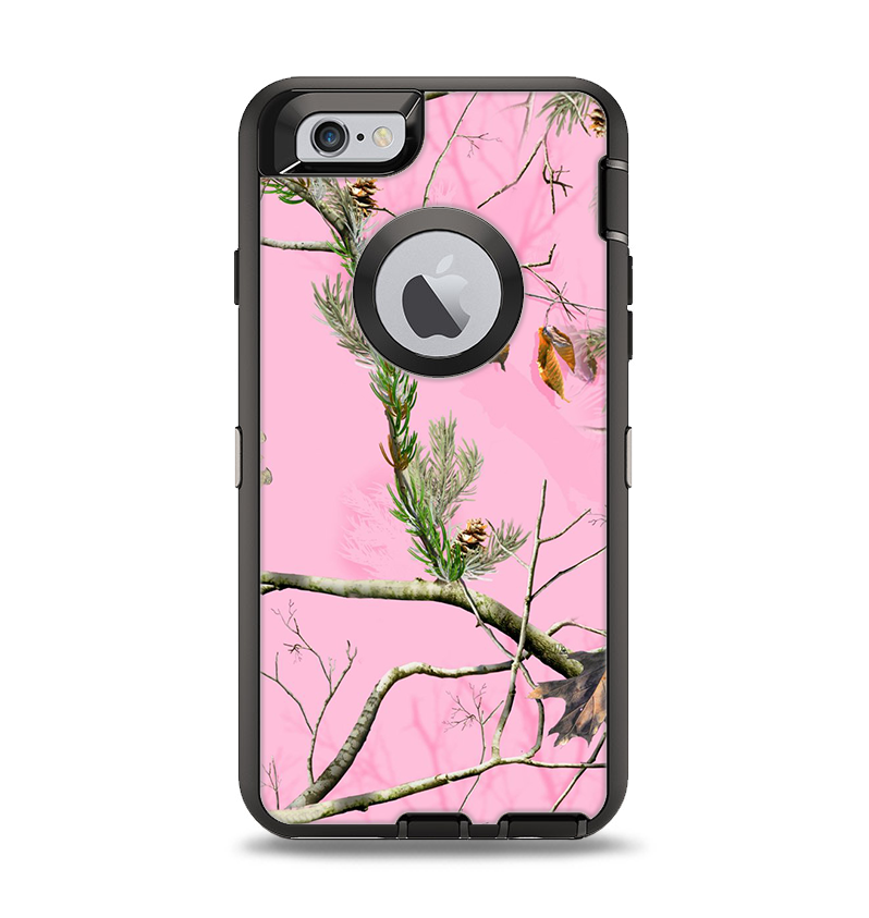 The Pink Real Camouflage Apple iPhone 6 Otterbox Defender Case Skin Se -  DesignSkinz e1d886117731