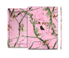The Pink Real Camouflage Skin Set for the Apple iPad Pro