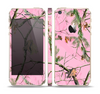 The Pink Real Camouflage Skin Set for the Apple iPhone 5s