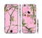 The Pink Real Camouflage Sectioned Skin Series for the Apple iPhone 6 Plus