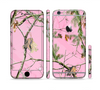 The Pink Real Camouflage Sectioned Skin Series for the Apple iPhone 6s Plus