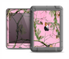 The Pink Real Camouflage Apple iPad Air LifeProof Nuud Case Skin Set