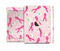 The Pink Ribbon Collage Breast Cancer Awareness Full Body Skin Set for the Apple iPad Mini 3