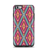 The Pink & Teal Abstract Mirrored Design Apple iPhone 6 Plus Otterbox Symmetry Case Skin Set