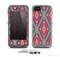 The Pink & Teal Abstract Mirrored Design Skin for the Apple iPhone 5c LifeProof Case