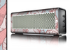 The Pink & Teal Lace Design Skin for the Braven 570 Wireless Bluetooth Speaker