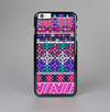 The Pink & Teal Modern Colored Aztec Pattern Skin-Sert Case for the Apple iPhone 6 Plus