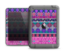 The Pink & Teal Modern Colored Aztec Pattern Apple iPad Air LifeProof Fre Case Skin Set