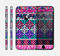 The Pink & Teal Modern Colored Aztec Pattern Skin for the Apple iPhone 6