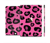 The Pink Vector Cheetah Print Full Body Skin Set for the Apple iPad Mini 3