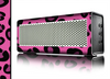 The Pink Vector Cheetah Print Skin for the Braven 570 Wireless Bluetooth Speaker