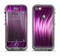 The Pink Vector Swirly HD Strands Apple iPhone 5c LifeProof Nuud Case Skin Set