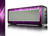 The Pink Vector Swirly HD Strands Skin for the Braven 570 Wireless Bluetooth Speaker