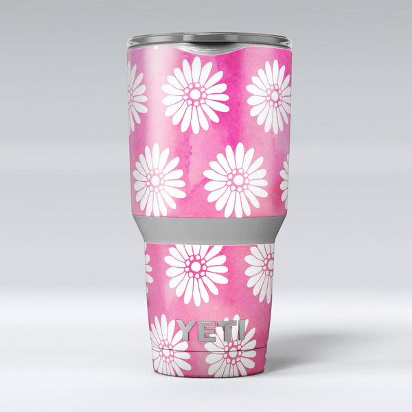 The_Pink_Watercolor_Grunge_Surface_with_White_Floral_Pattern_-_Yeti_Rambler_Skin_Kit_-_30oz_-_V1.jpg