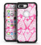 The Pink Watercolor Mosiac Hearts - iPhone 7 Plus/8 Plus OtterBox Case & Skin Kits