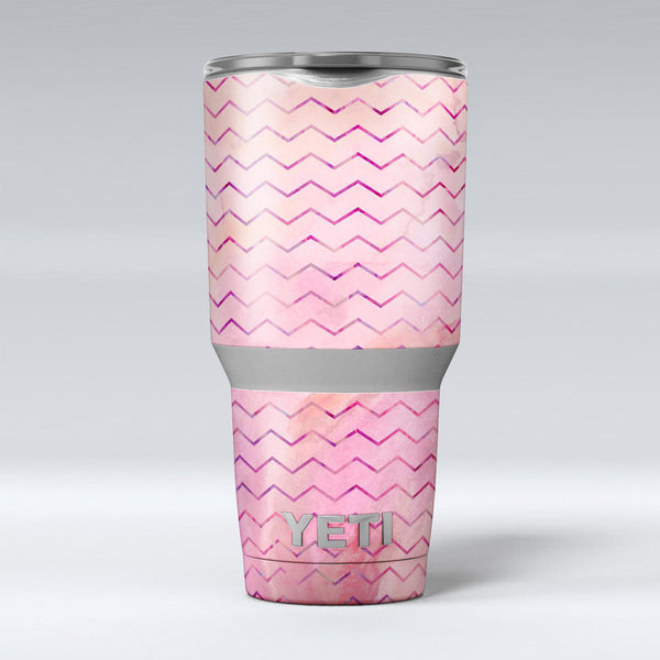 The_Pink_Watercolor_Paint_Blend_with_Multicolor_Chevron_-_Yeti_Rambler_Skin_Kit_-_30oz_-_V1.jpg