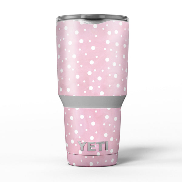 The_Pink_Watercolor_Surface_with_White_Polka_Dots_-_Yeti_Rambler_Skin_Kit_-_30oz_-_V5.jpg