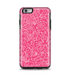 The Pink & White Abstract Illustration V3 Apple iPhone 6 Plus Otterbox Symmetry Case Skin Set