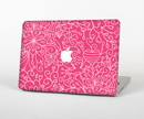 "The Pink & White Abstract Illustration V3 Skin Set for the Apple MacBook Pro 15"" with Retina Display"