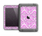 The Pink & White Delicate Pattern Apple iPad Air LifeProof Fre Case Skin Set