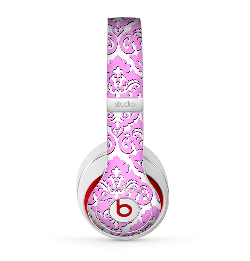 The Pink & White Delicate Pattern Skin for the Beats by Dre Studio (2013+ Version) Headphones