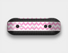 The Pink & White Ombre Chevron Pattern Skin Set for the Beats Pill Plus
