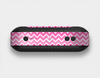 The Pink & White Ombre Chevron V2 Pattern Skin Set for the Beats Pill Plus