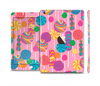 The Pink With Vector Color Treats Full Body Skin Set for the Apple iPad Mini 3