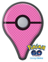 The Pink and Black Micro Polka Dot Pattern Pokémon GO Plus Vinyl Protective Decal Skin Kit