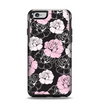 The Pink and Black Rose Pattern V3 Apple iPhone 6 Otterbox Symmetry Case Skin Set