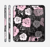 The Pink and Black Rose Pattern V3 Skin for the Apple iPhone 6