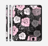 The Pink and Black Rose Pattern V3 Skin for the Apple iPhone 6 Plus
