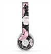 The Pink and Black Rose Pattern V3 Skin for the Beats by Dre Solo 2 Headphones